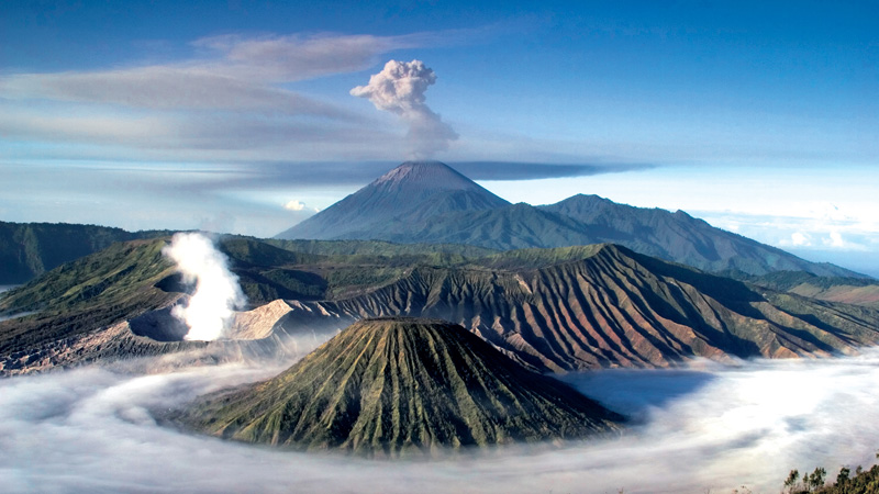 Mount Bromo, heaven above the sky
