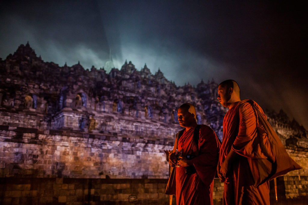 Vesak Day, Borobudur Indonesia