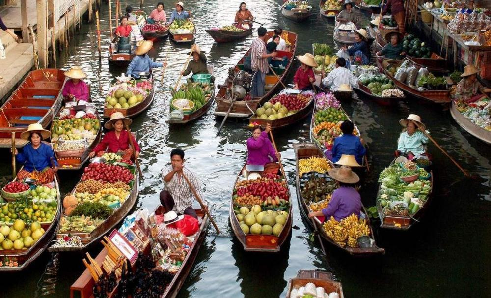 the floating market bangkok information